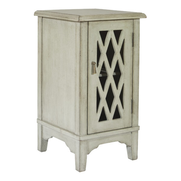 Remini Storage Console - Antique Ash Grey - OSP Home Furnishings - Residential
