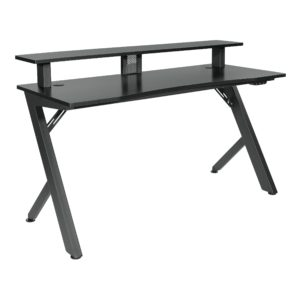 Area51 Battlestation Gaming Desk - Black - OSP Home Furnishings - Modern - Residential