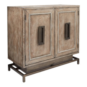 Haven Storage Cabinet - Antique Driftwood - OSP Home Furnishings - Contemporary - Residential