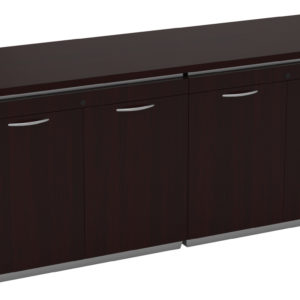 Tuxedo 4-Door Storage Credenza 72x24 - Dark Roast - OSP Furniture - Commercial
