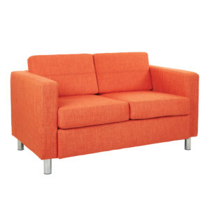 Pacific LoveSeat - Tangerine - OSP Home Furnishings - Contemporary - Commercial & Residential