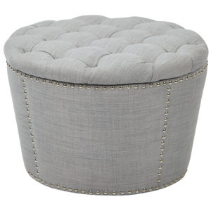 Lacey Tufted Storage Set - Milford Dove - OSP Home Furnishings - Traditional - Residential