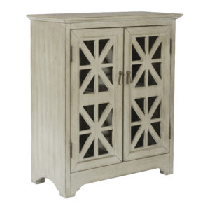Audrey Storage Console - Antique Taupe - OSP Home Furnishings - Residential