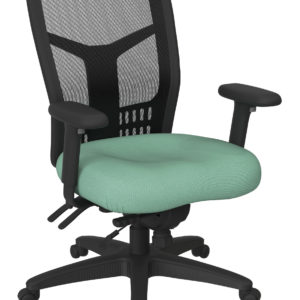ProGrid High Back Managers Chair - Fun Colors Jade - Pro-Line II - Contemporary - Commercial