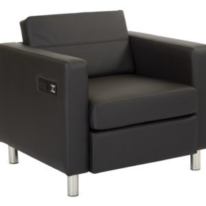 Atlantic chair - Black - OSP Home Furnishings - Modern - Commercial & Residential