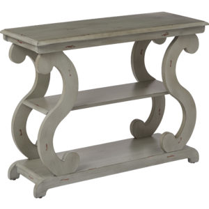 Ashland Console Table - Antique Grey - OSP Home Furnishings - Transitional - Residential