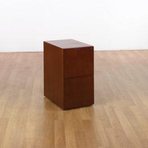 Sonoma File/File Desk Pedestal - Dark Cherry - OSP Furniture - Contemporary - Commercial