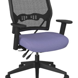 Deluxe Chair with AirGrid Back - Violet - SPACE SEATING - Contemporary - Commercial