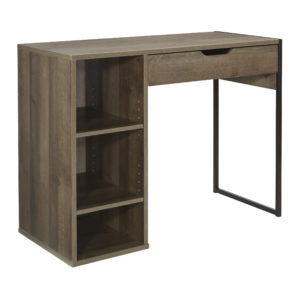 "Ravel 40""W Desk - Grey Oak - OSP Home Furnishings - Morden - Residential"