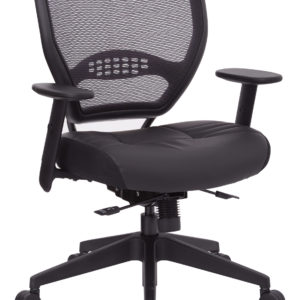 Air Grid Back Managers Chair - Black - SPACE SEATING - Professional - Commercial