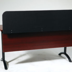 """Pace Tables Privacy Screen For 60"""" Top - Black - OSP Furniture - Modern - Commercial"""