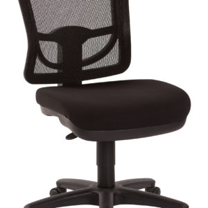 ProGrid Mesh Back Armless Task Chair - Coal - Pro-Line II - Contemporary - Commercial
