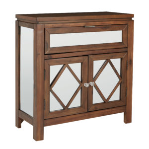 Benton Console - Antique Natural - OSP Home Furnishings - Contemporary - Residential