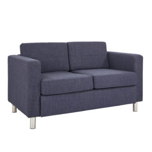 Pacific LoveSeat - Navy - OSP Home Furnishings - Contemporary - Commercial & Residential