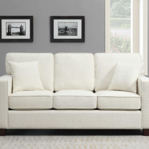 Russell 3 Seater Sofa - Ivory - OSP Home Furnishings - Residential