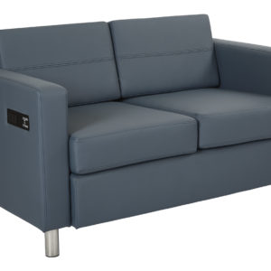 Atlantic Loveseat - Blue - OSP Home Furnishings - Modern - Commercial & Residential