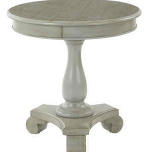 Avalon Round Accent table - Antique Grey - OSP Home Furnishings - Traditional - Residential