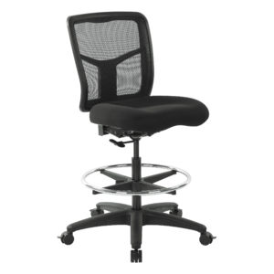 ProGrid Mesh Drafting Chair - Coal - Pro-Line II - Contemporary - Commercial