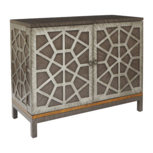 Potenza Wine Cabinet - Color Combo - OSP Home Furnishings - Residential