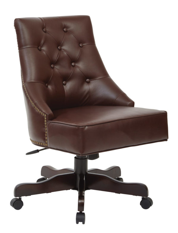 Rebecca Office Chair - Cocoa - OSP Home Furnishings - Traditional - Residential