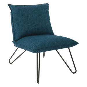 Riverdale Chair - Azure - OSP Home Furnishings - Residential