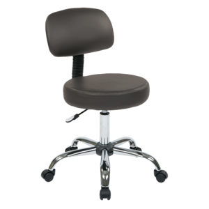 Pneumatic Drafting Chair - Dillon Graphite - Work Smart - Contemporary - Residential