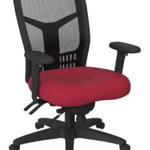 ProGrid High Back Managers Chair - Fun Colors Rouge - Pro-Line II - Contemporary - Commercial